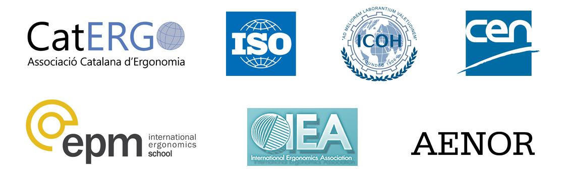 asociaciones y organizaciones mundiales de ergonomia, cenea