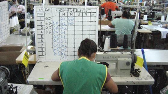 ergonomia sector textil