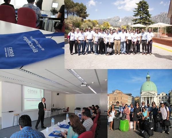 ceena cursos de ergonomia internacional european stage