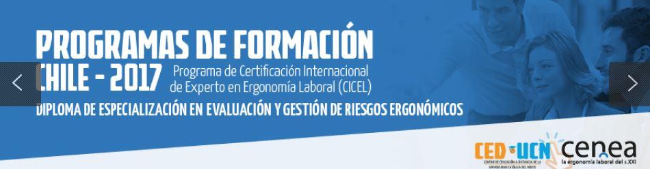 ergonomia prevencion riesgos laborales chile, cenea ced-ucn
