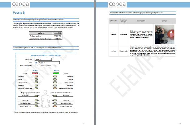 evaluacion de riesgos por movimientos repetitivos, ocra checklist cenea_