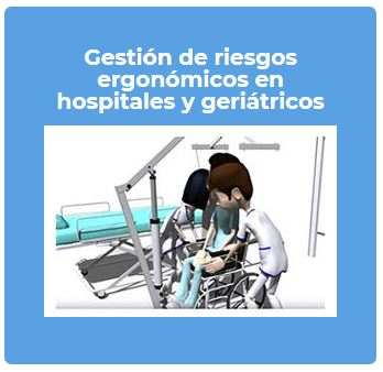 riesgos ergonomicos hospitales enfermeria centros sanitarios