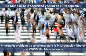 salud y seguridad laboral post covid 19