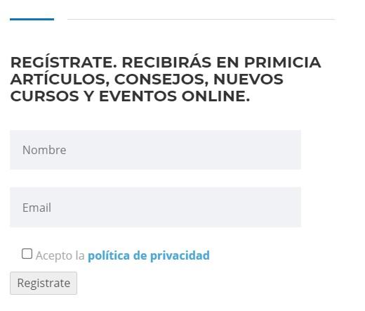 Formulario registro cenea